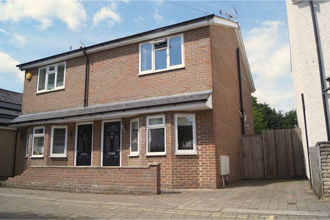 Thumbnail Semi-detached house for sale in King Edward Road, Waltham Cross