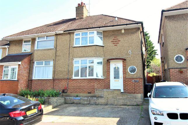 Semi-detached house to rent in Corner Hall Avenue, Hemel Hempstead