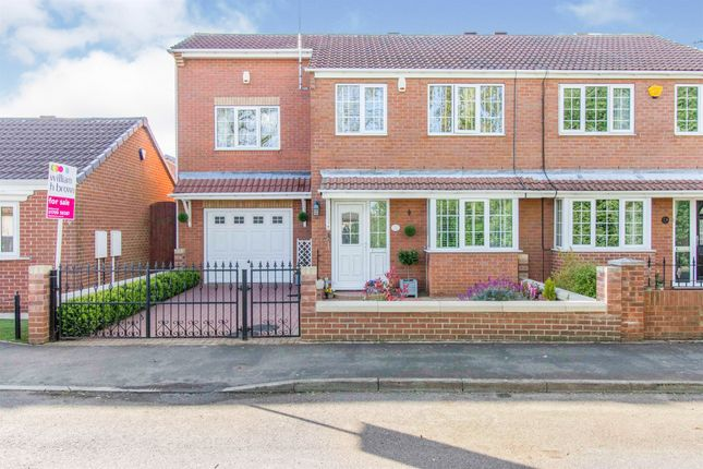 5 bed semi-detached house for sale in The Poplars, Conisbrough, Doncaster DN12