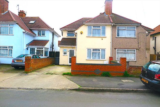 Thumbnail Semi-detached house for sale in St. Heliers Avenue, Hounslow