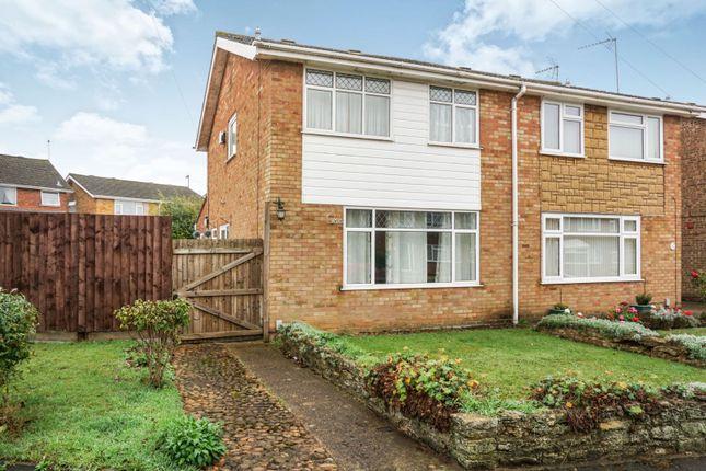 Thumbnail Semi-detached house for sale in Trent Crescent, Burton Latimer