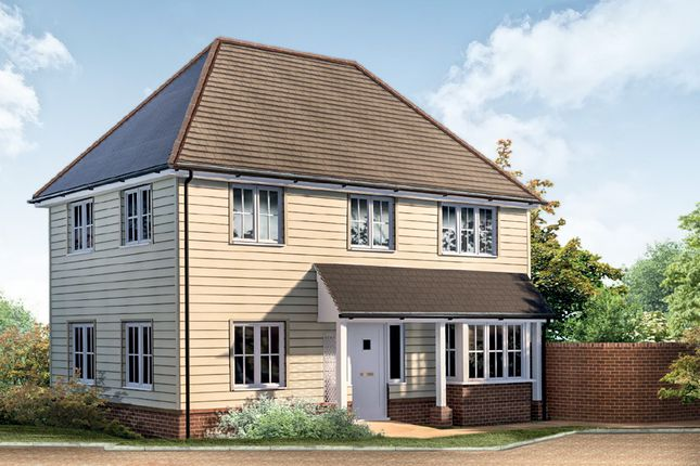Thumbnail Semi-detached house for sale in Stockett Lane, Coxheath, Maidstone