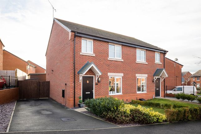 Thumbnail Semi-detached house for sale in Gregory Crescent, Winsford