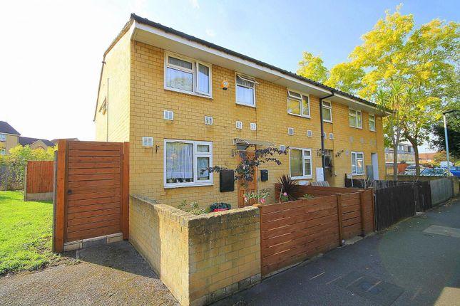 Thumbnail End terrace house for sale in Eldridge Close, Feltham, Middlesex