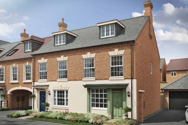 """Semi-detached house for sale in """"The Thornton W"""" at Davidsons At Wellington Place, Leicester Road, Market Harborough"""