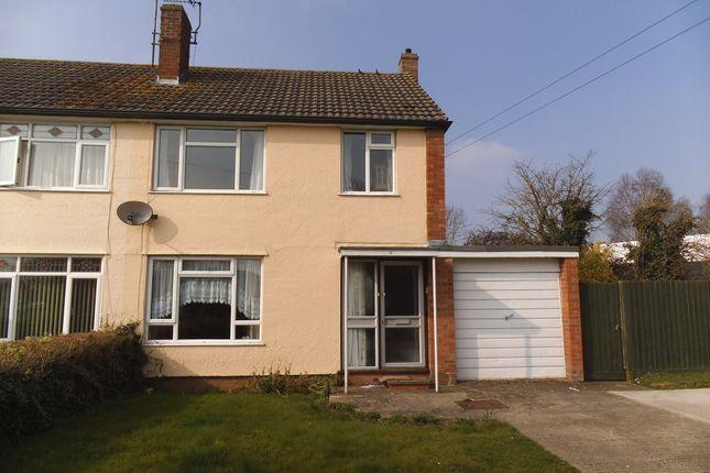 Thumbnail Semi-detached house to rent in Hazelwood Road, Melksham