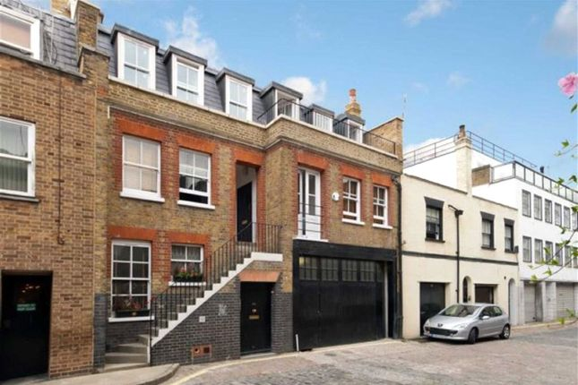 Thumbnail Mews house to rent in Weymouth Mews, Marylebone