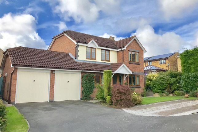 Thumbnail Detached house for sale in Orangewood Close, Gonerby Hill Foot, Grantham