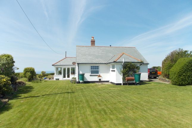 Thumbnail Detached bungalow for sale in Millook, Poundstock, Bude
