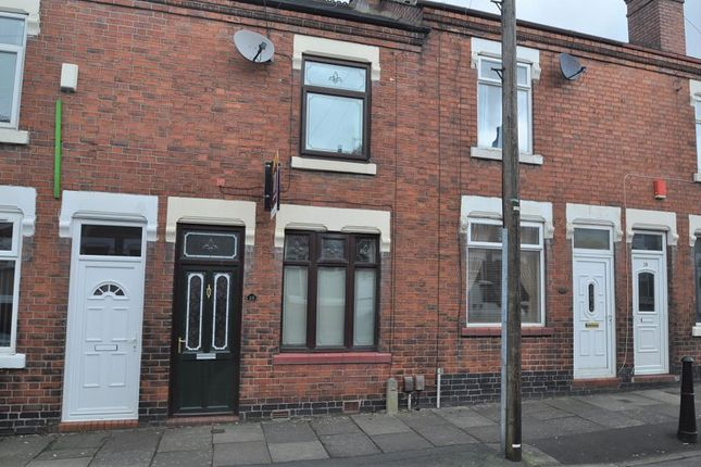 Thumbnail Terraced house for sale in Wileman Street, Fenton, Stoke-On-Trent