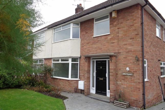 Thumbnail Semi-detached house to rent in Langdale Road, Woodley, Stockport