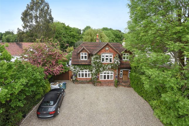 Thumbnail Detached house for sale in Fleet Lane, Finchampstead, Wokingham, Berkshire