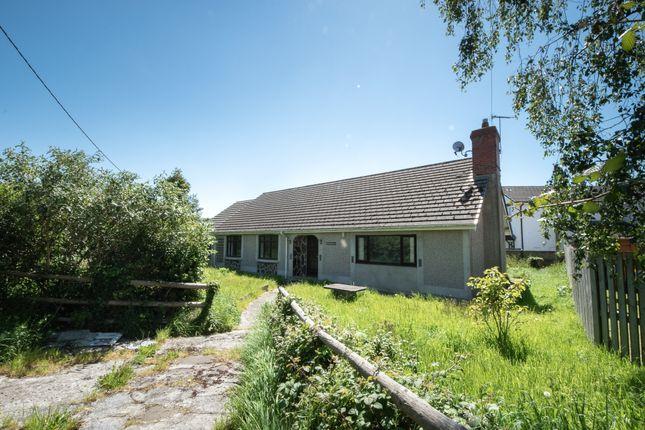 Thumbnail Detached bungalow for sale in Pwllhobi, Llanbadarn Fawr, Aberystwyth