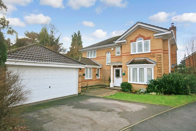 Thumbnail Detached house for sale in Pavilion Close, Fair Oak, Eastleigh