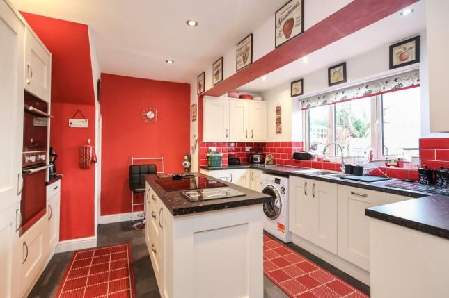 Kitchen of Catterwood Drive, Compstall, Stockport, Cheshire SK6