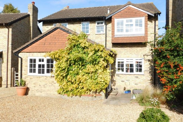 Thumbnail Detached house for sale in Marschefield, Stotfold, Hitchin