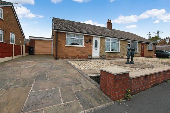 Thumbnail Semi-detached bungalow for sale in Ashworth Avenue, Little Lever, Bolton