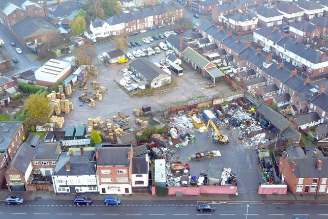 Thumbnail Land for sale in Hartshill Road, Hartshill, Stoke-On-Trent