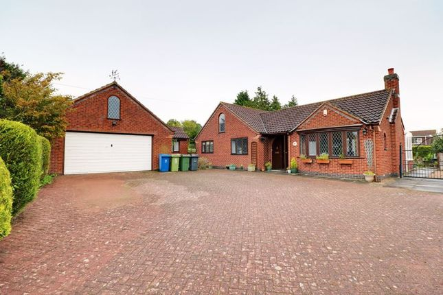 Thumbnail Detached bungalow for sale in Church Hill, Grasby, Barnetby