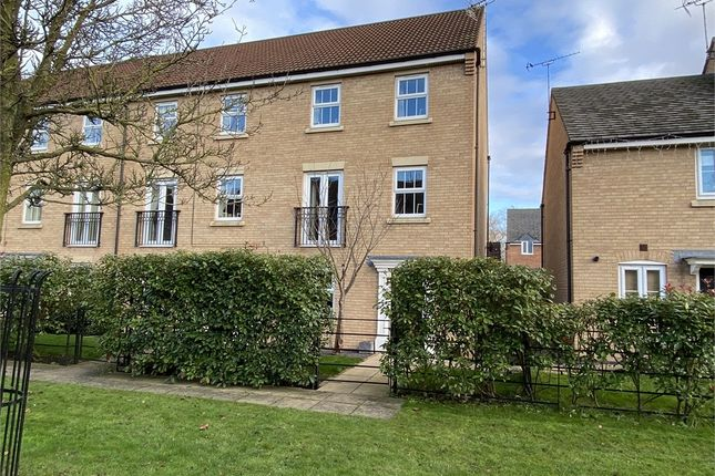 Thumbnail End terrace house for sale in Rubys Walk, Fernwood, Newark, Nottinghamshire.