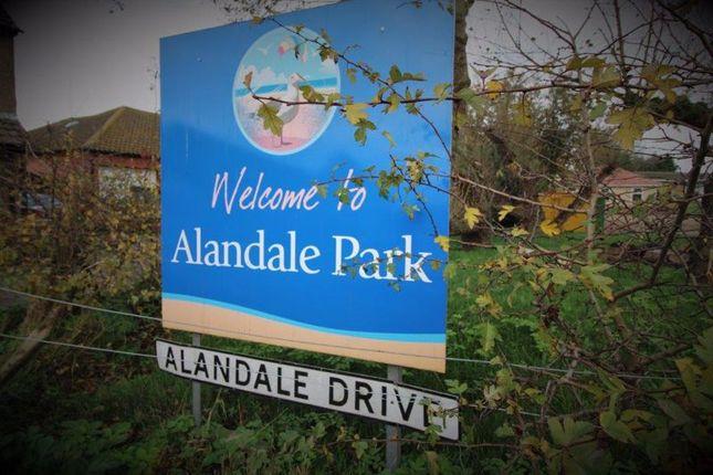 Entrance To Park of Alandale Drive, Kessingland, Lowestoft NR33