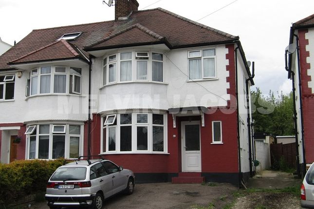 Thumbnail Semi-detached house to rent in Brook Avenue, Edgware, Greater London.