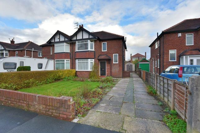 Thumbnail Semi-detached house to rent in Cavendish Road, Hazel Grove, Stockport, Cheshire