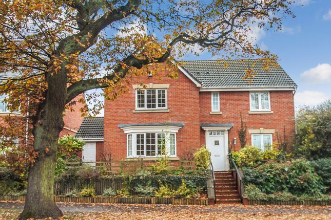 Thumbnail Detached house for sale in Monkspath Hall Road, Solihull