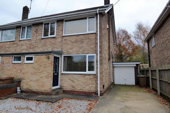 Thumbnail Semi-detached house to rent in Lowfield Road, Beverley, East Yorkshire