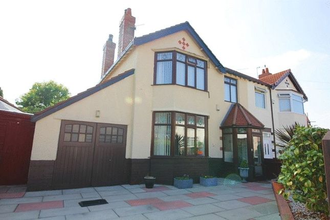 Thumbnail Semi-detached house for sale in Hilltop Road, Childwall, Liverpool L167Qp