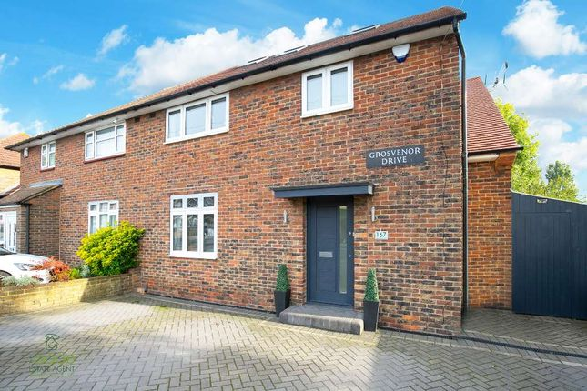 Thumbnail Semi-detached house for sale in Grosvenor Drive, Loughton