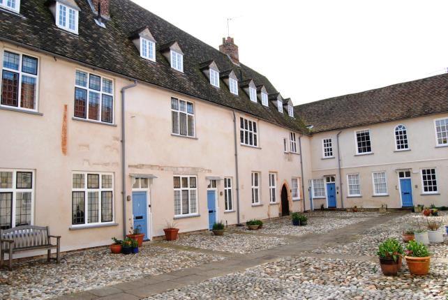 Rear Views of Nelson Street, Kings Lynn, Norfolk PE30