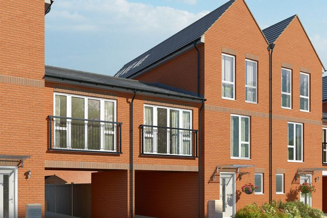 "Thumbnail Terraced house for sale in ""The Hemlock"" at Connolly Way, Chichester"