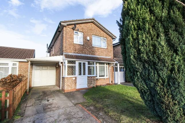Thumbnail Detached house for sale in Shoreham Close, Willenhall