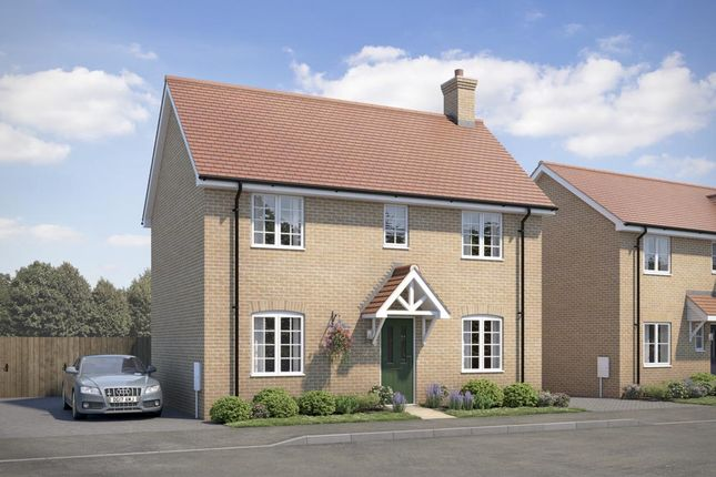 "Thumbnail Property for sale in ""The Braxted"" at Wetherden Road, Elmswell, Bury St. Edmunds"
