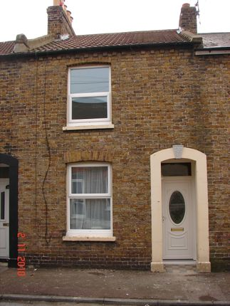 Thumbnail Terraced house to rent in Grotto Road, Margate