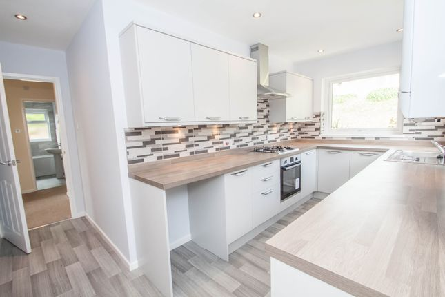 Thumbnail Detached bungalow for sale in Barningham Gardens, Plymouth