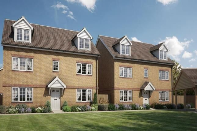 Thumbnail Detached house for sale in The Green, Stotfold