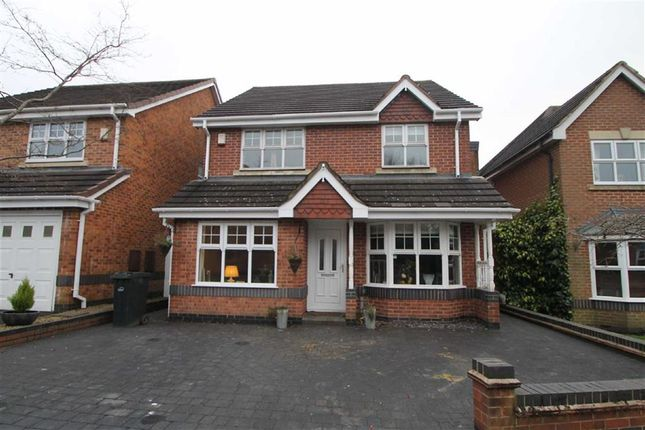 Thumbnail Detached house for sale in Welbeck Close, Halesowen