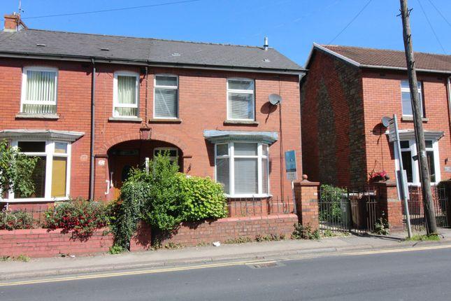 Thumbnail Semi-detached house for sale in Bryngwyn Road, Newbridge, Newport