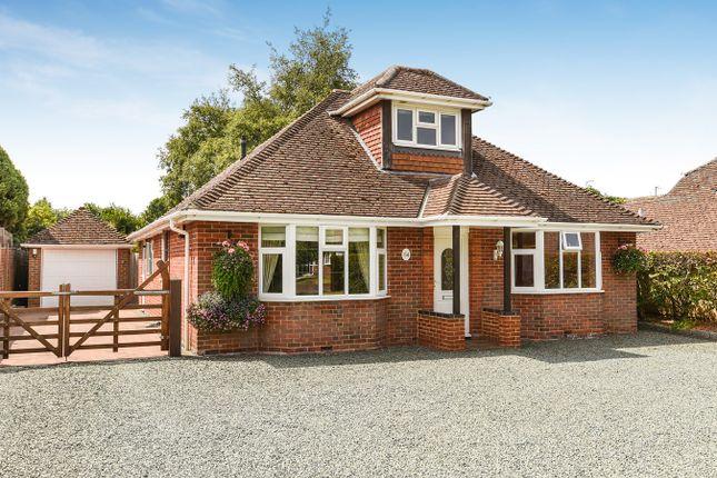 Thumbnail Detached bungalow for sale in Homesteads Road, Kempshott, Basingstoke
