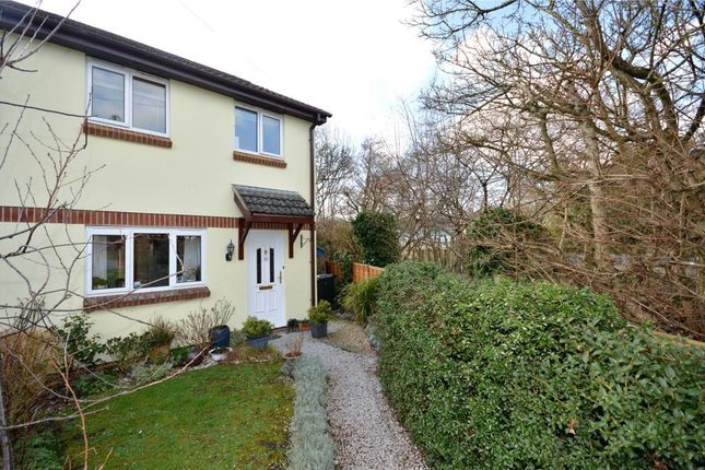 Thumbnail Semi-detached house for sale in Gales Crest, Chudleigh Knighton, Newton Abbot, Devon