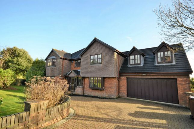 Thumbnail Detached house for sale in Knoll Park, Truro, Cornwall