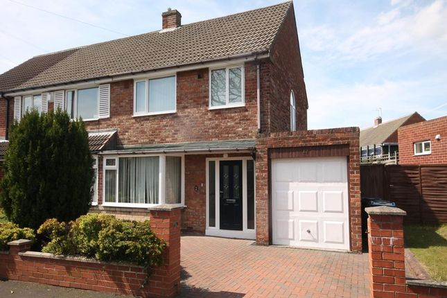 Thumbnail Semi-detached house to rent in Deneway, Rowlands Gill