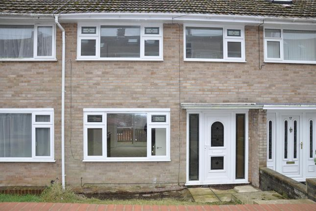 Thumbnail End terrace house to rent in Cottey Crescent, Exeter