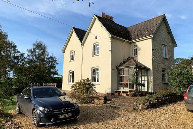 Thumbnail Detached house for sale in Crowcombe, Taunton - Rural Setting, Far Reaching Views
