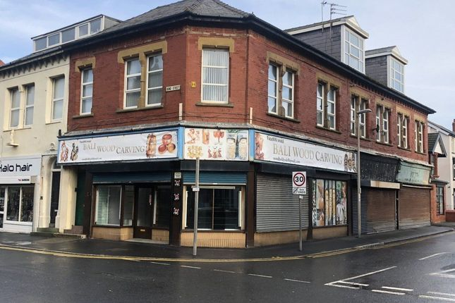 Retail premises to let in Bond Street, Blackpool, Lancashire