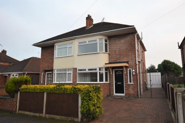 Thumbnail Semi-detached house for sale in Rosedale Avenue, Alvaston, Derby