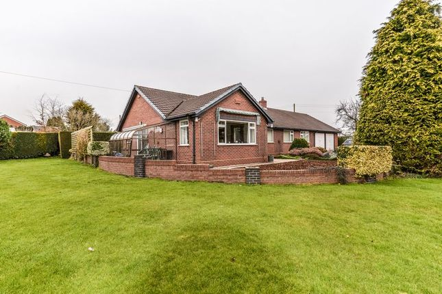 3 bed detached bungalow for sale in Chester Road, Hinstock, Market Drayton