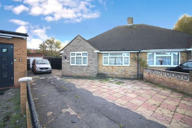 Thumbnail Semi-detached bungalow for sale in Grange Close, Heston